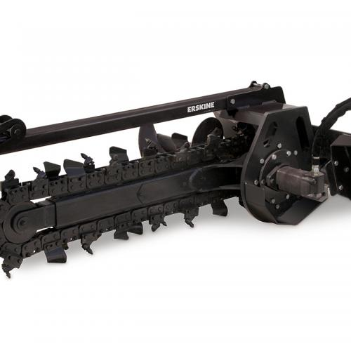 Mini Skid Loader Attachment ~ Trencher