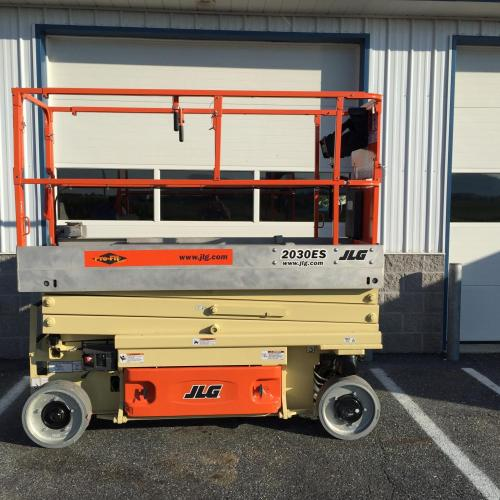 20' Electric Scissor Lift For Rent