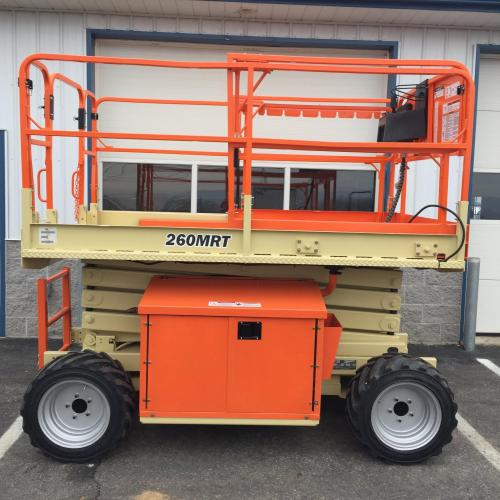 all-terrain scissor lift for rent