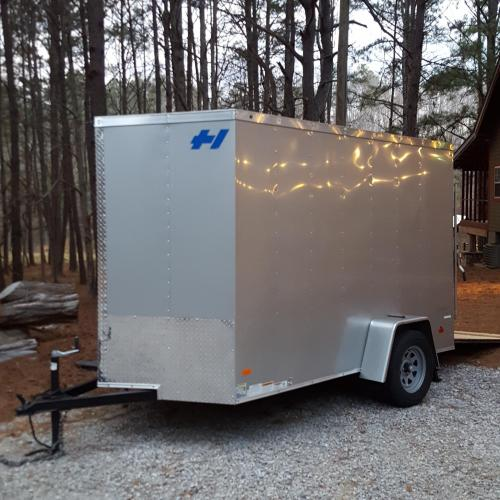Enclosed trailer for rent near me