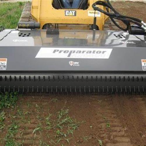 Skidloader Attatchment ~ Soil Preperator