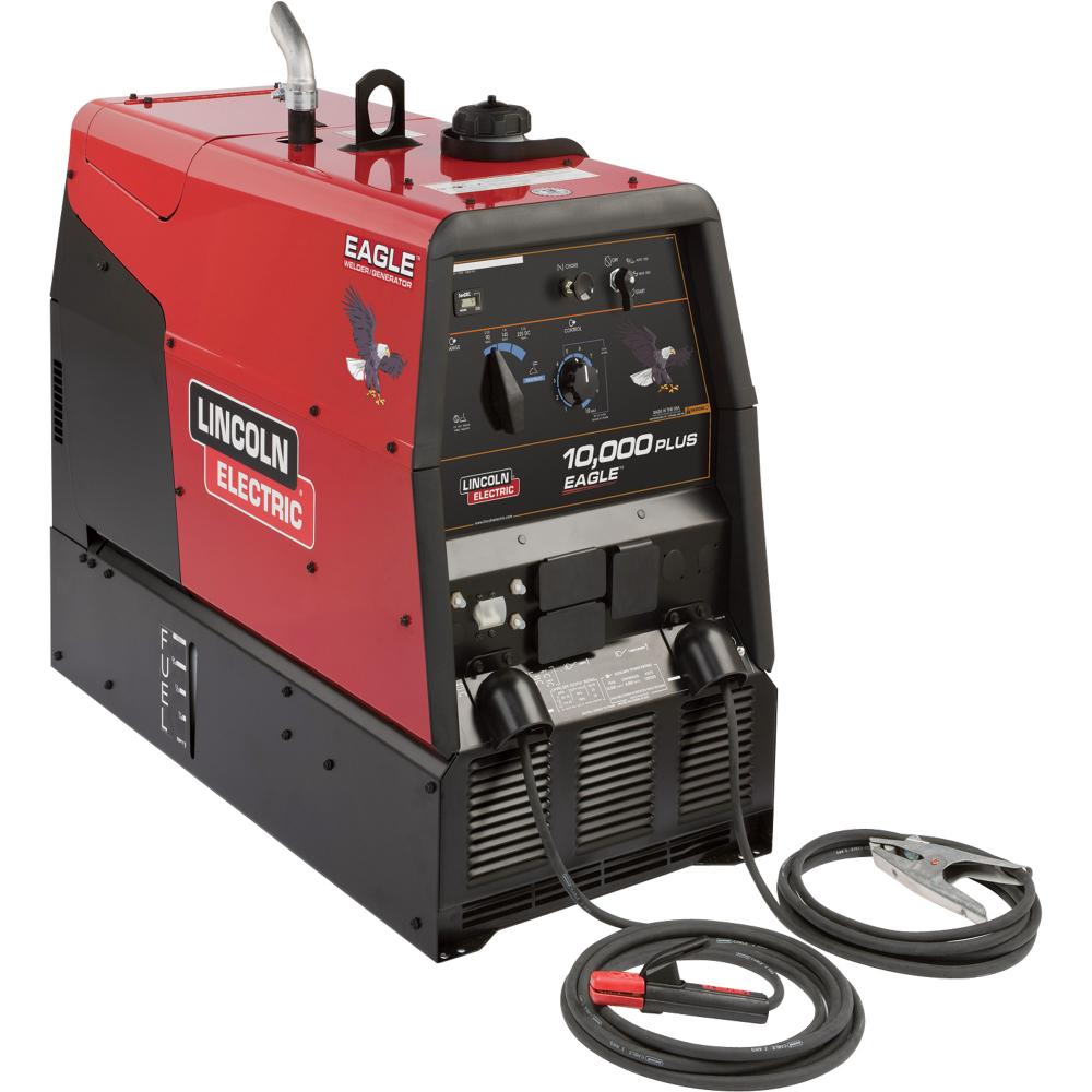 Welder Gas Lincoln 225 A/ 10,000 w/ Generator