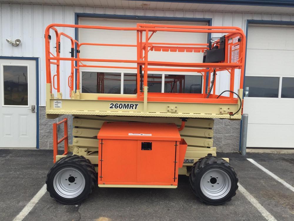 all-terrain scissor lift for rent