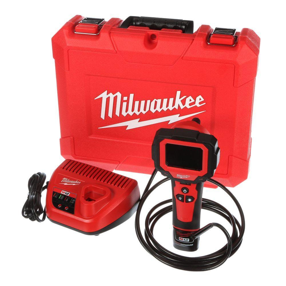 Inspection Camera ~ Milwaukee 12V Battery